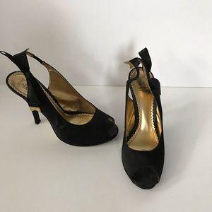 Shoes - Women's sling-back Heels